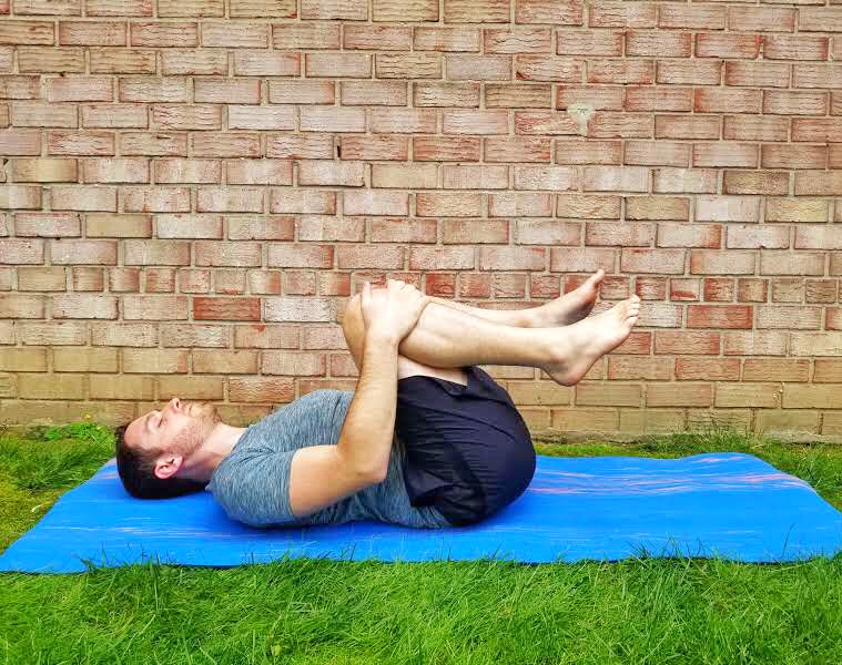 Knees to Chest - Yoga Pose