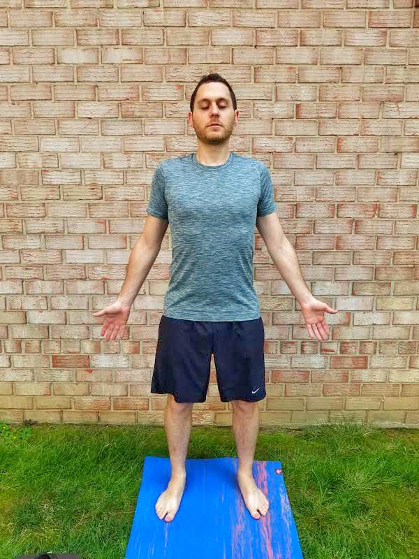 Mountain Pose - Yoga Pose