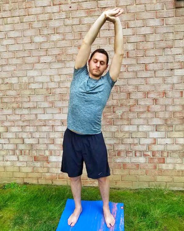 Side Bends - Yoga Pose